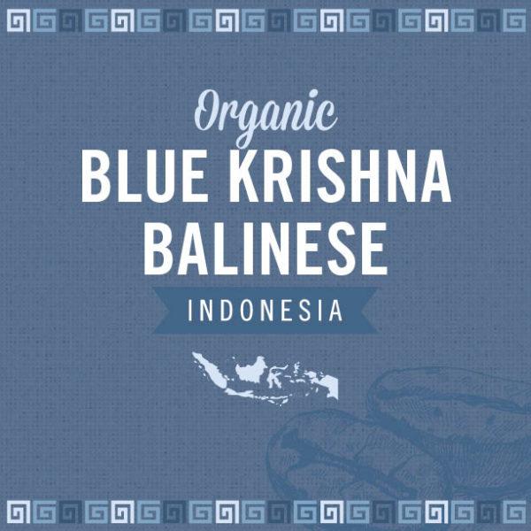 Organic Blue Krishna Balinese
