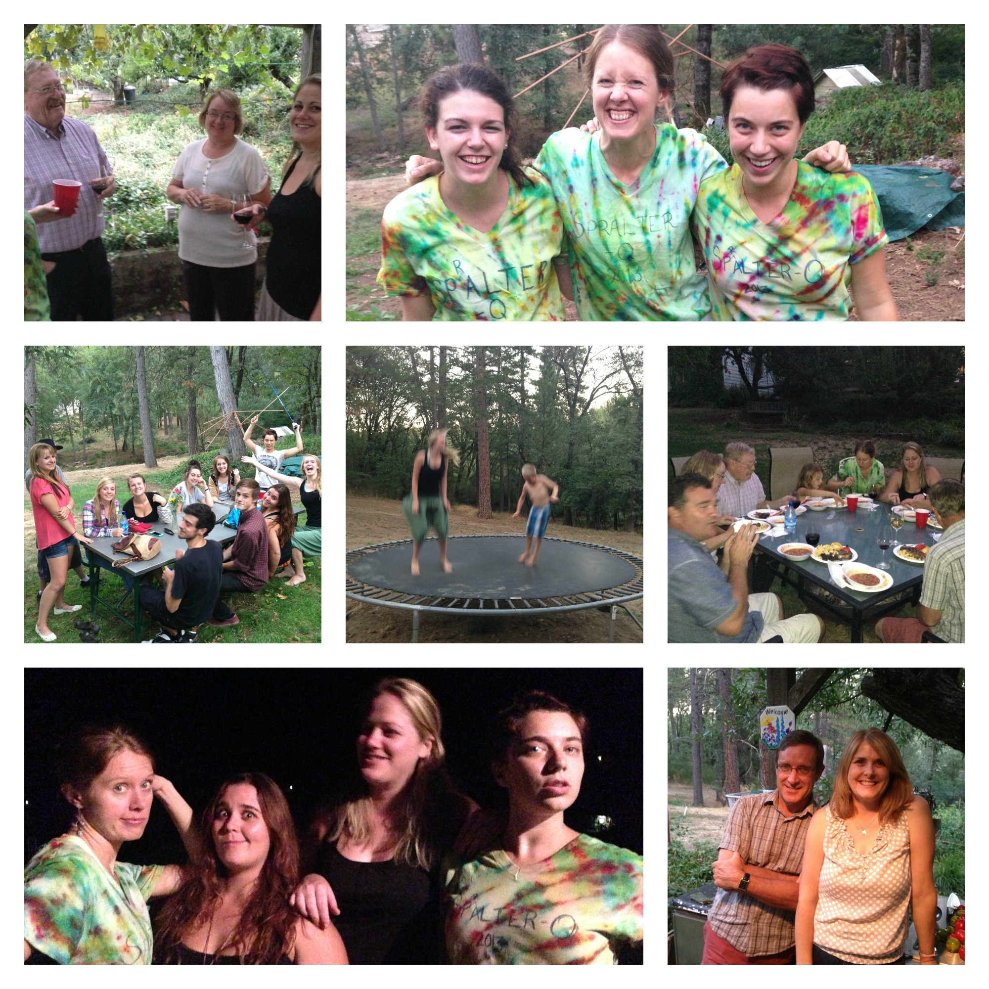 Staff Party Collage