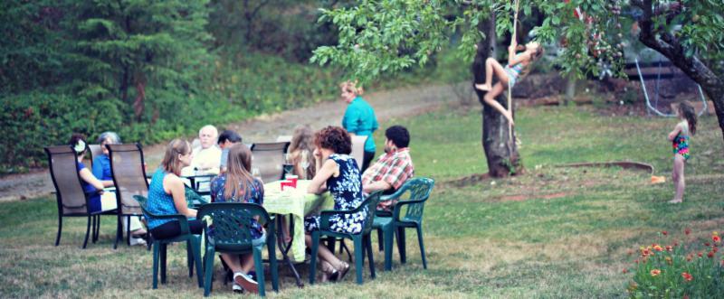 Yard Full of Family