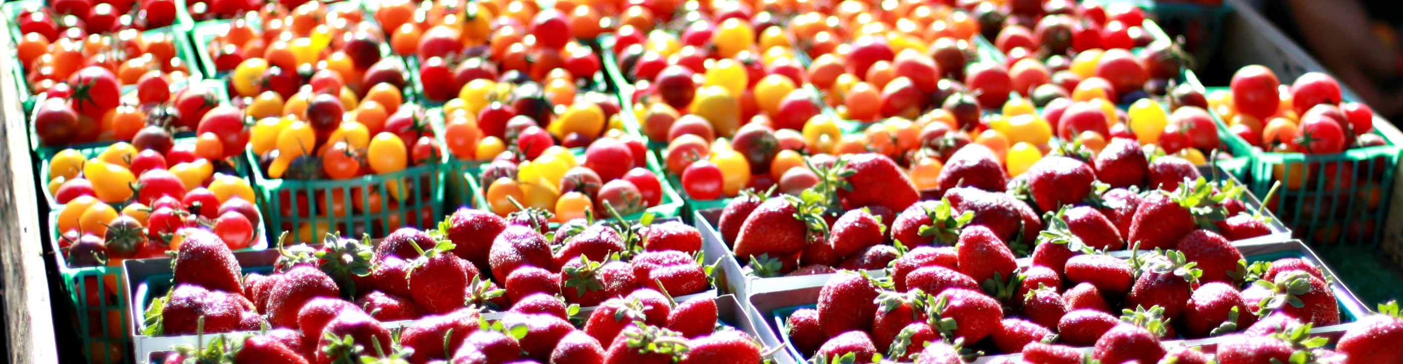 tomatoes and strawberries