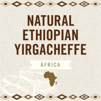 Natural Ethiopian Yirgacheffe