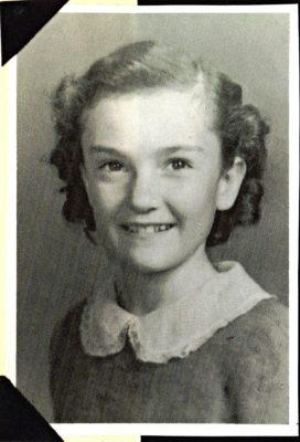 Caroline Fike in 1946--age 9