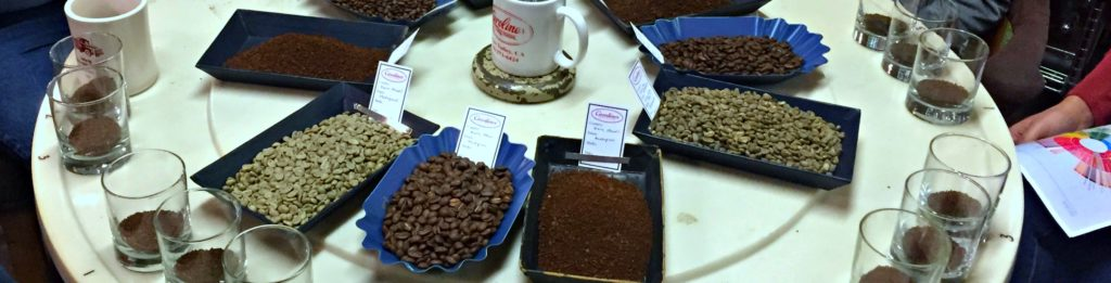 Coffee cupping 2017